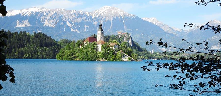 Besuch nach Bled nach dem erfolgreichen Umzug Wien Slowenien.
