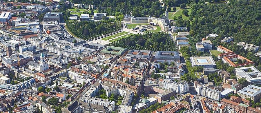 Stadtzentrum erkunden nach erledigtem Umzug Wien Karlsruhe.