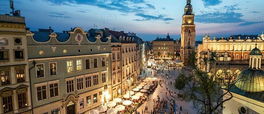 Zentrum von Krakau besichtigen, nach dem Umzug Wien Krakau.