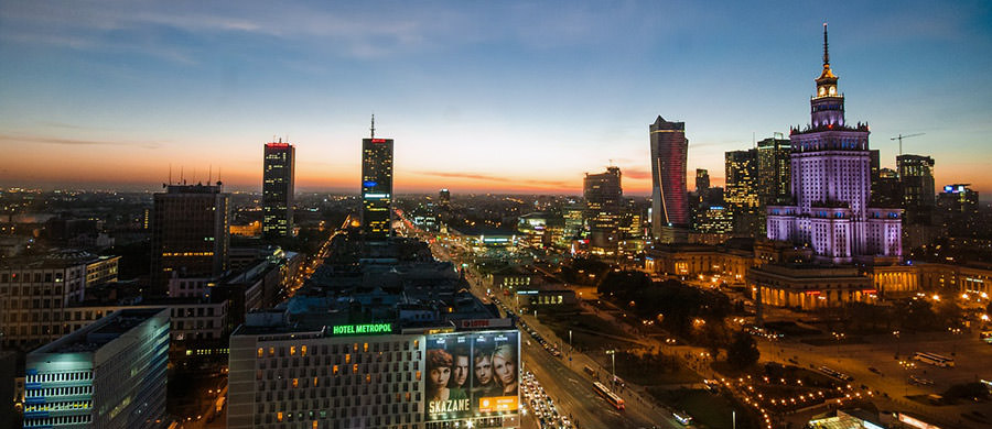 Umzug Wien Polen planen, und dann den modernen Teil von Warschau geniessen.