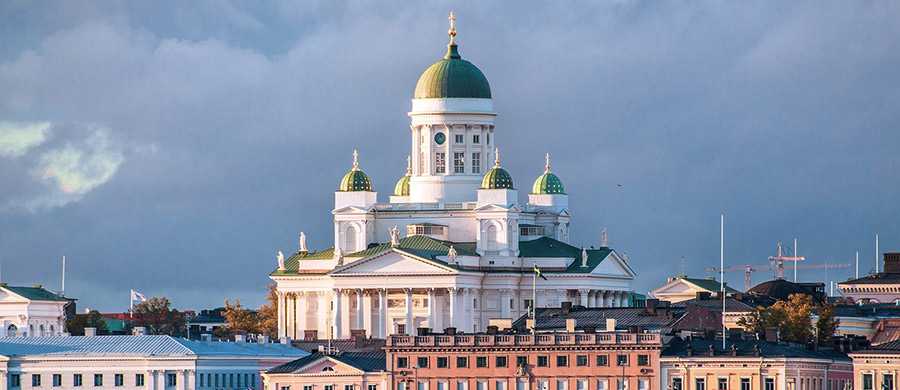 Nach dem Umzug Wien Helsinki, kännen Sie das schöne Panorama von Helsinki bestaunen.