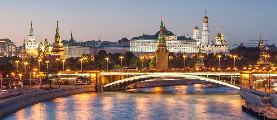 Die schönen Brücken besichtigen, nach dem erledigtem Umzug Wien Moskau.