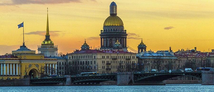 Nachdem Umzug Wien Sankt Petersburg können Sie die schöne Aussicht geniessen.