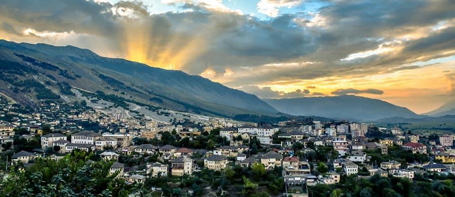 Das schöne Land Albanien durchwandern, nach dem Umzug Wien Albanien.