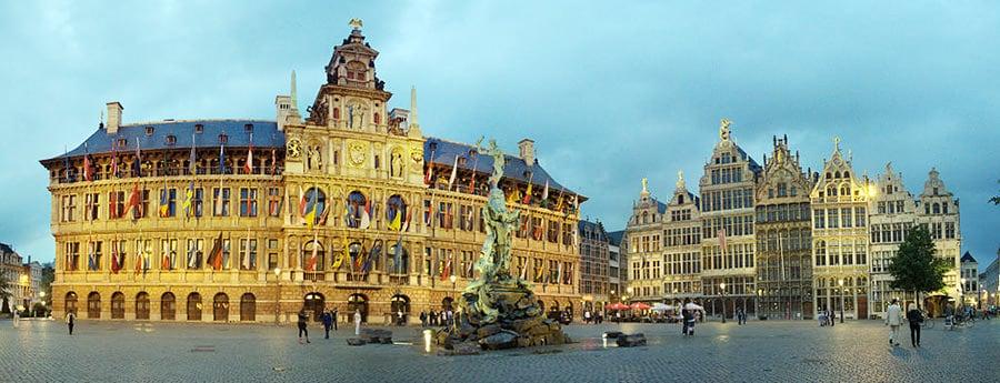 Die Stadt Antwerpen besichtigen, nach dem Umzug Wien Antwerpen.