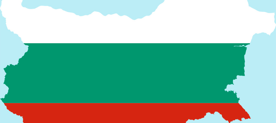 Die Flagge von Bulgarien - Umzug Wien Bulgarien