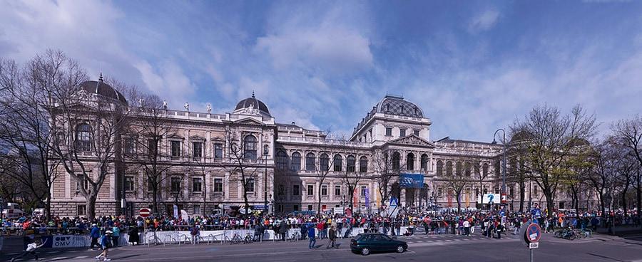 Universität Wien besuchen nach dem Umzug von Studenten in Wien.