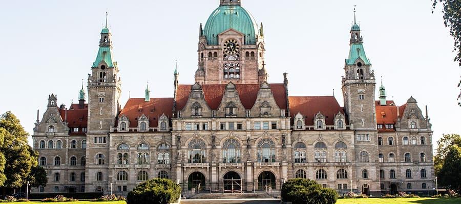 Das Hannover Rathaus besuchen nach dem Umzug Wien Hannover.