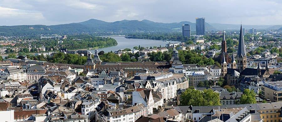 Zentrum von Bonn besichtigen nach dem Umzug von Wien nach Bonn