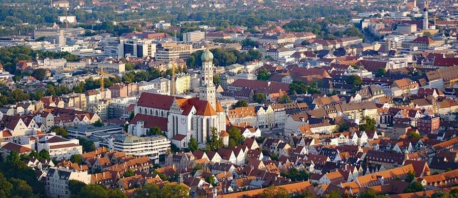 DIe Altstadt von Augsburg erkunden, nach dem Umzug von Wien nach Augsburg.