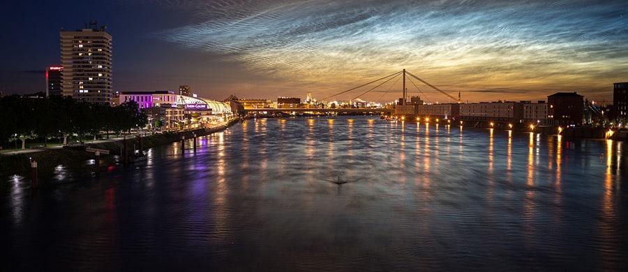 Umzug von Wien nach Mannheim erledigen und den Ludwigshafen in Mannheim erkundigen.