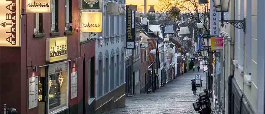 Altstadt von Mönchengladbach erkunden nach dem Umzug von Wien nach Mönchengladbach